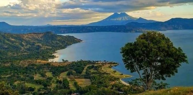 Lake Ilopango El Salvador