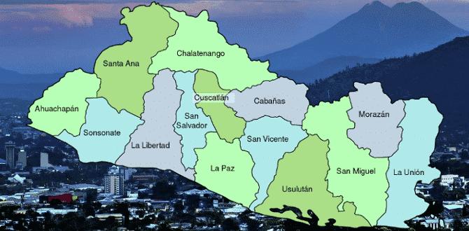 El Salvador Departments